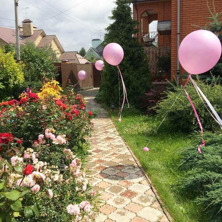 Globos fiesta de cumplea os o aniversario con decoraci n for Casa y jardin tienda decoracion
