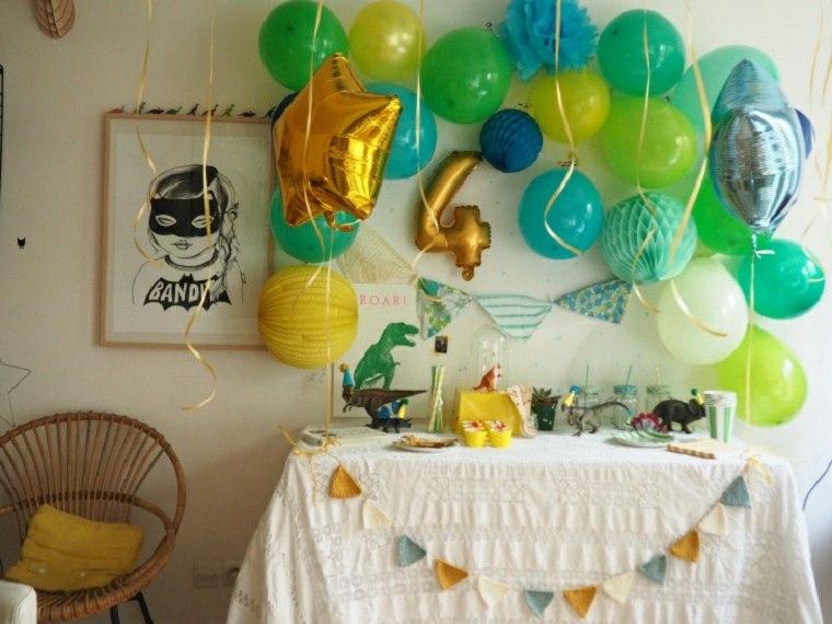 globos fiesta cumpleanos ninos opciones originales ideas