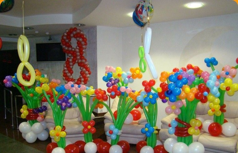 globos fiesta globos opciones flores ideas
