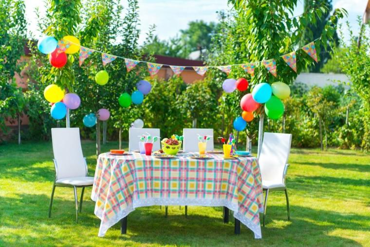 Decoracion para fiestas en jardin decoracion de mesas de - Decoracion fiesta jardin ...