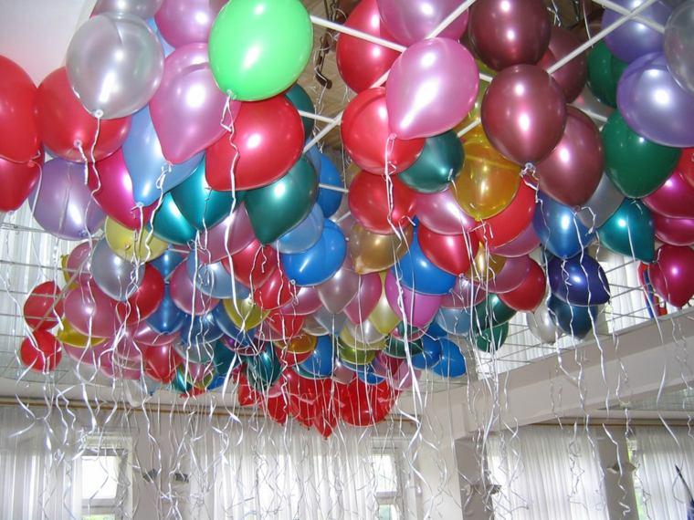 globos fiesta techo globos opciones ideas
