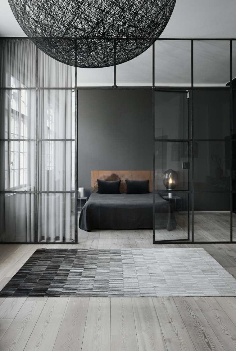 Dormitorios dise o de colores y muebles funcionales for Muebles oscuros paredes claras