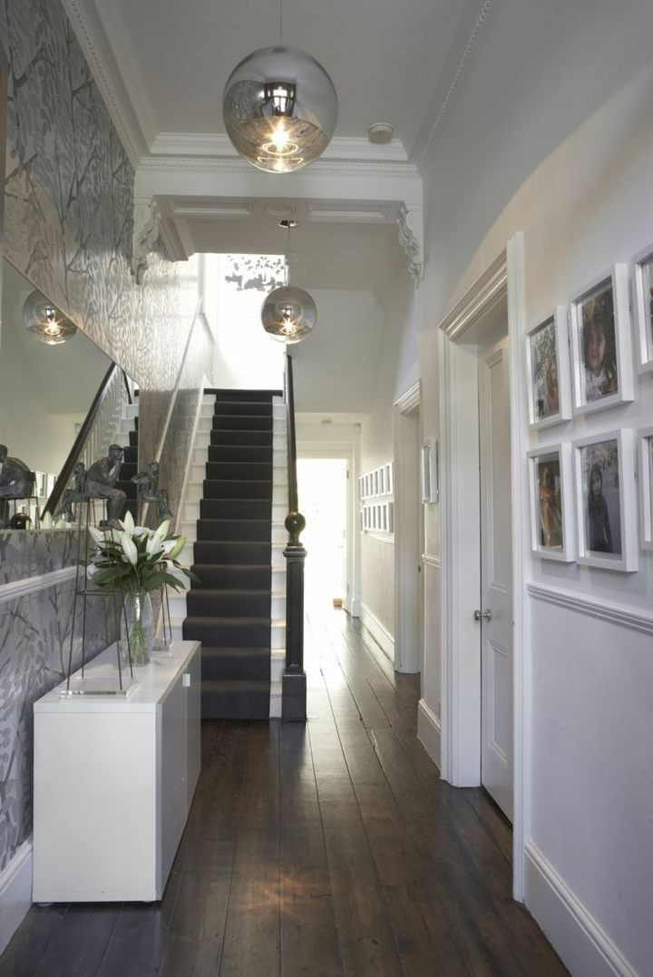 gris paredes blancas plateados ideas