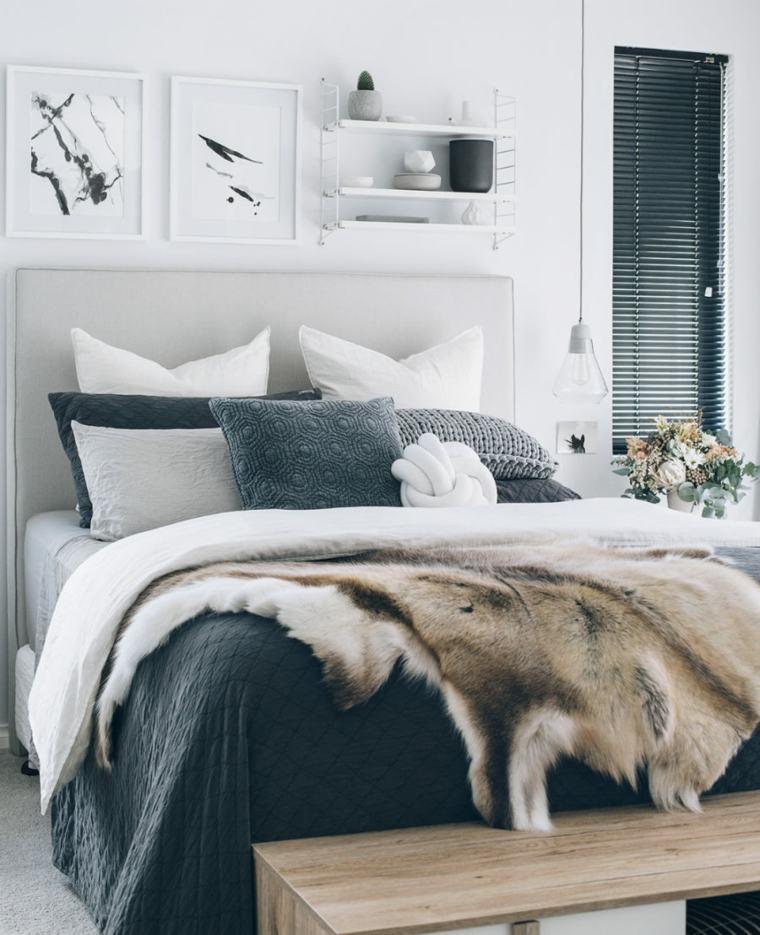 grises acentos ideas elegantes estantes