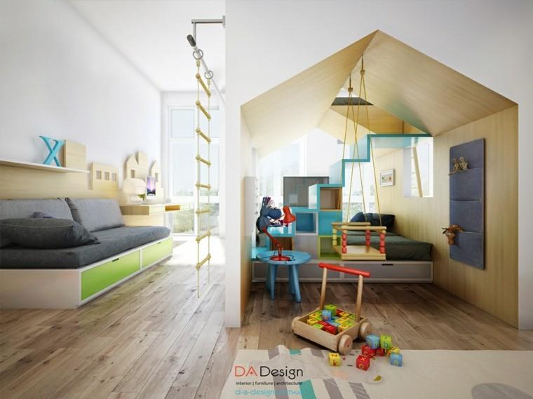 habitación infantil sistema modular