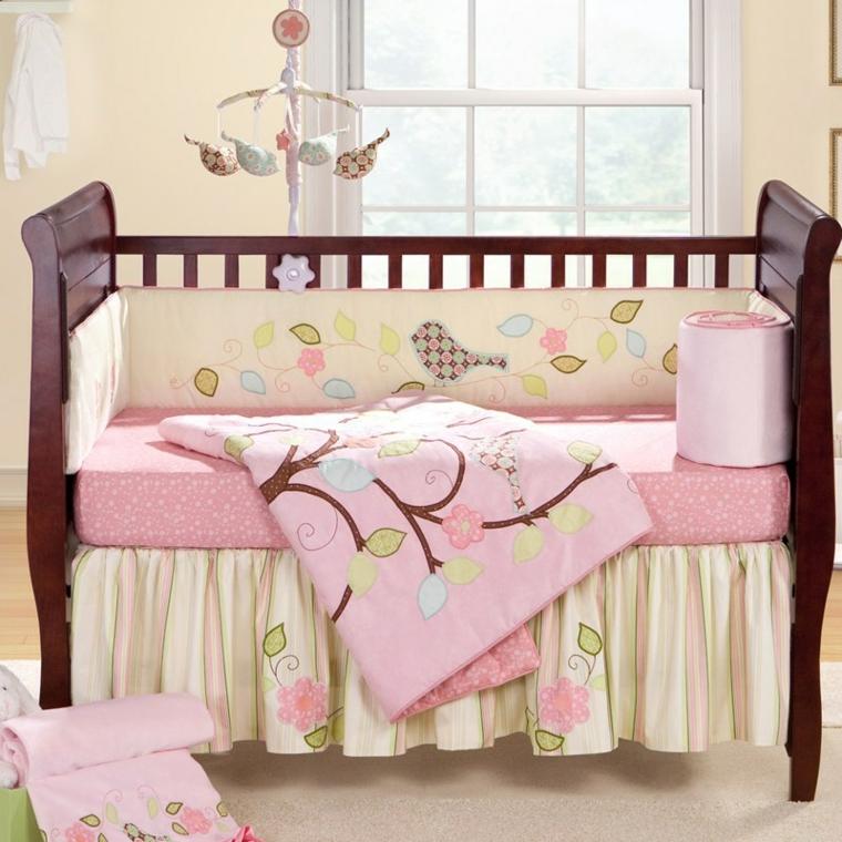 habitación para bebé niña decorar interior