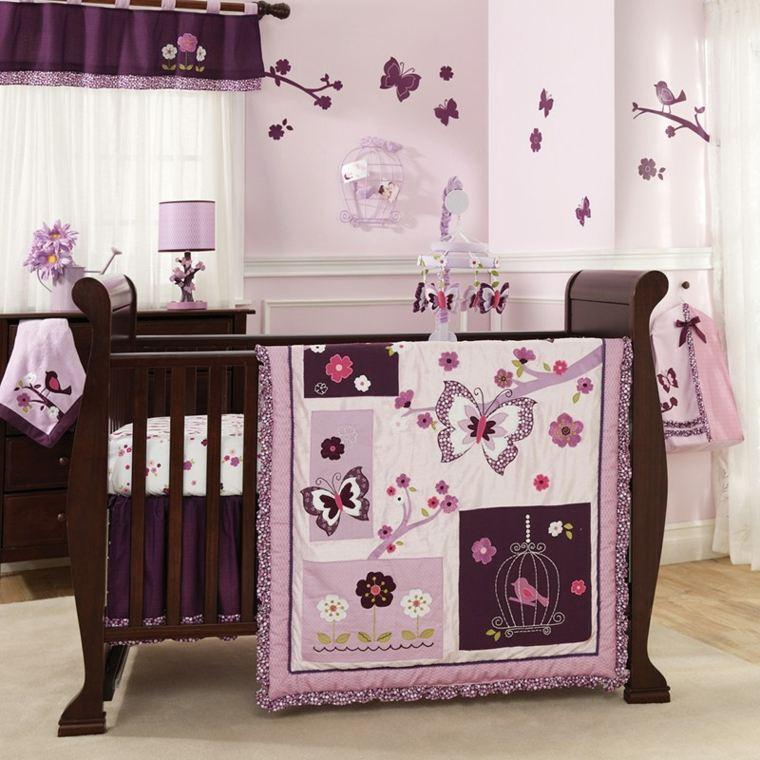 Habitaci n para beb ni a unos dise os originales - Decoracion para habitacion de bebe nina ...
