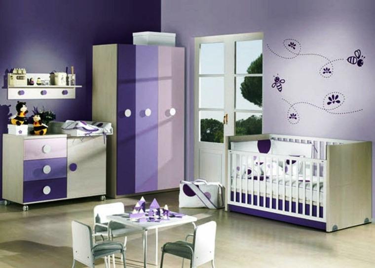 habitación para bebé niña interior casa