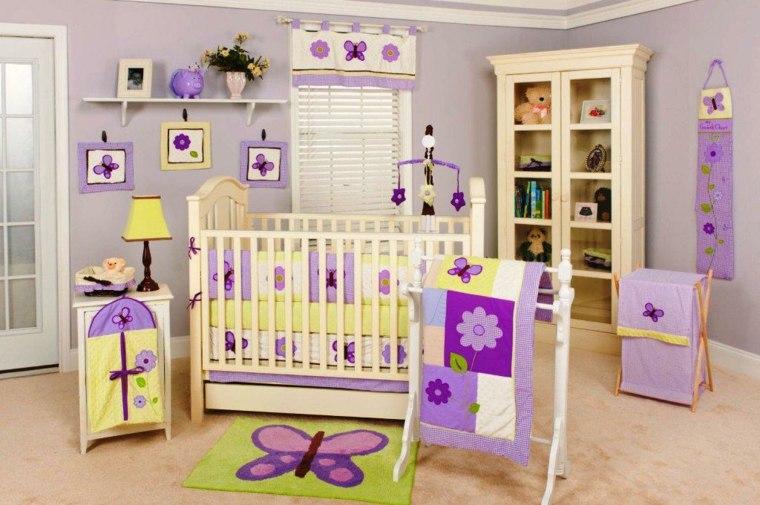 habitación para bebé niña interior