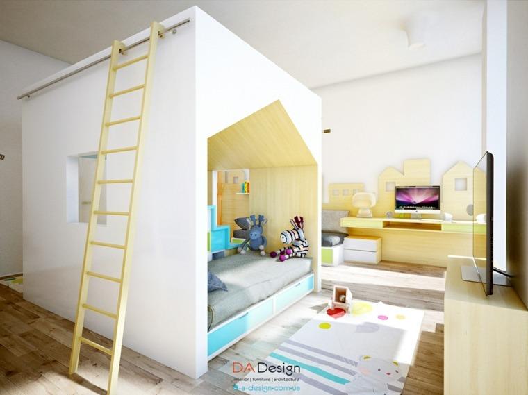 habitacion sistema modular moderno infantil