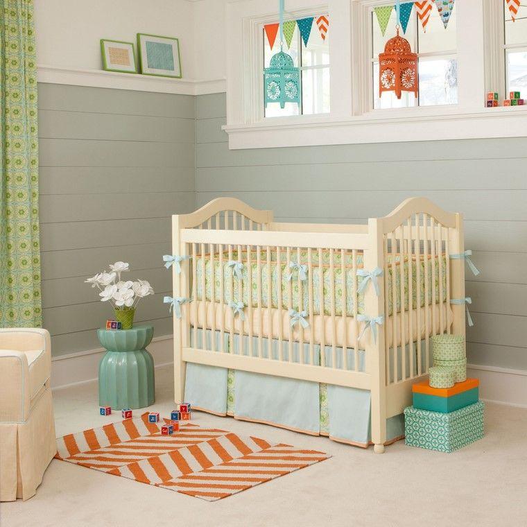 habitaciones de bebé nino azul detalles originales ideas