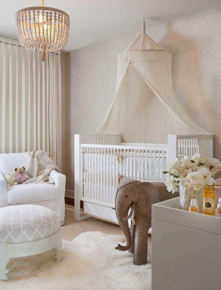 habitaciones de bebé niño diseno elegante ideas