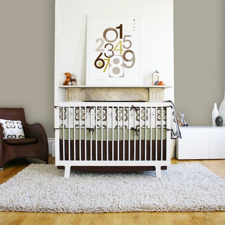 habitaciones de bebé niño diseno moderno ideas