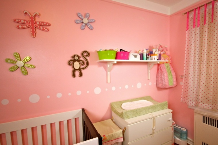 7 Inspiring Kid Room Color Options For Your Little Ones: Habitación Para Bebé Niña, Unos Diseños Originales