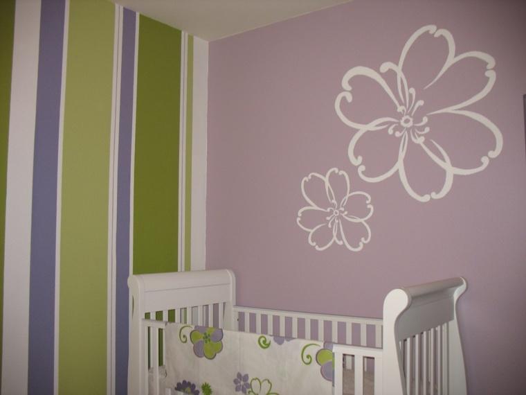 habitaciones de niña bebé