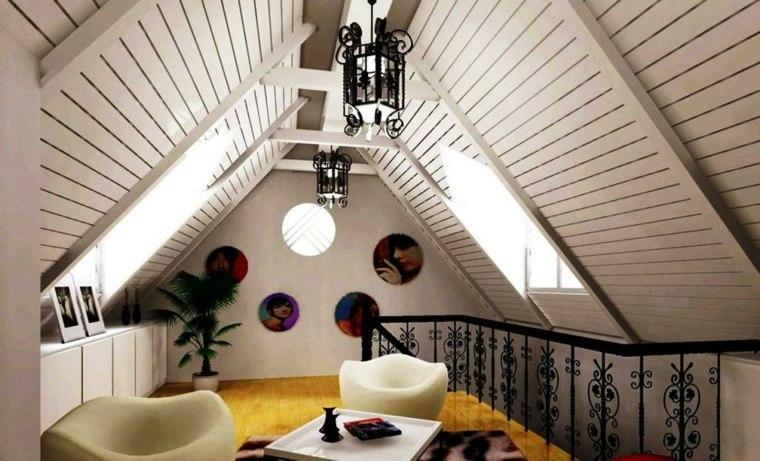ideas decorativas loft buhardilla