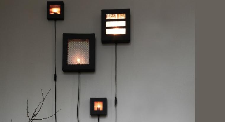 L mparas pasillo para decorar y para iluminar el interior for Comfabriquer une applique