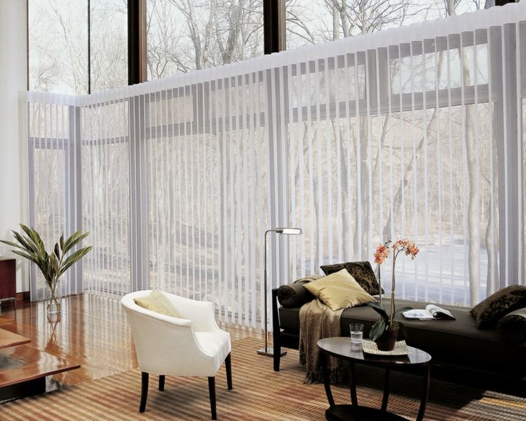 imgenes de cortinas modernas saln