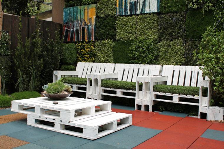 impresionante diseño muebles palet