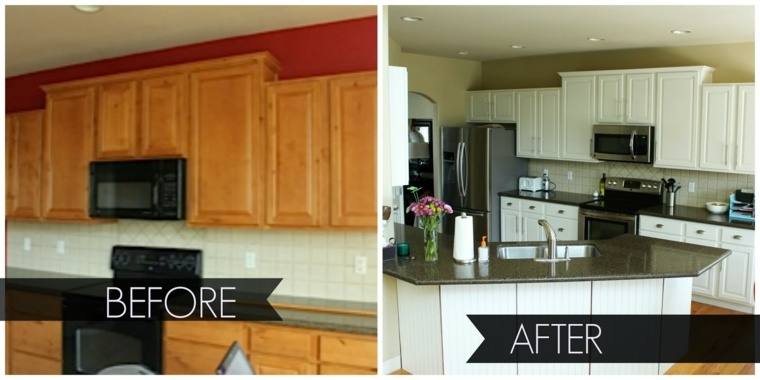 old kitchen cabinets before and after cocinas reformadas antes y despu 233 s gran cambio 8985