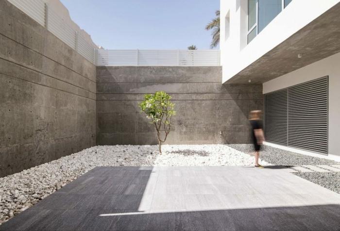 interior patio elegantes soluciones plantas