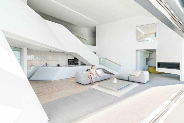 interior mdoerno estilo minimal