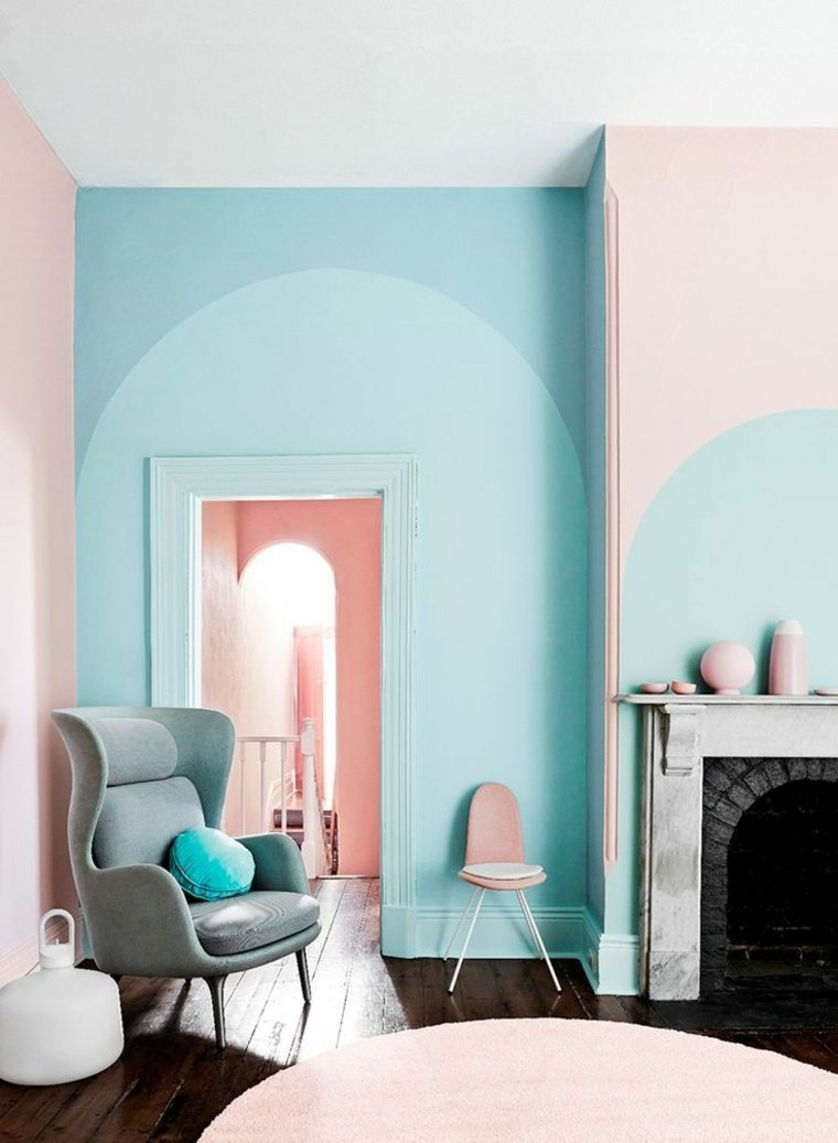 Ideas para diseños de interiores de color aguamarina