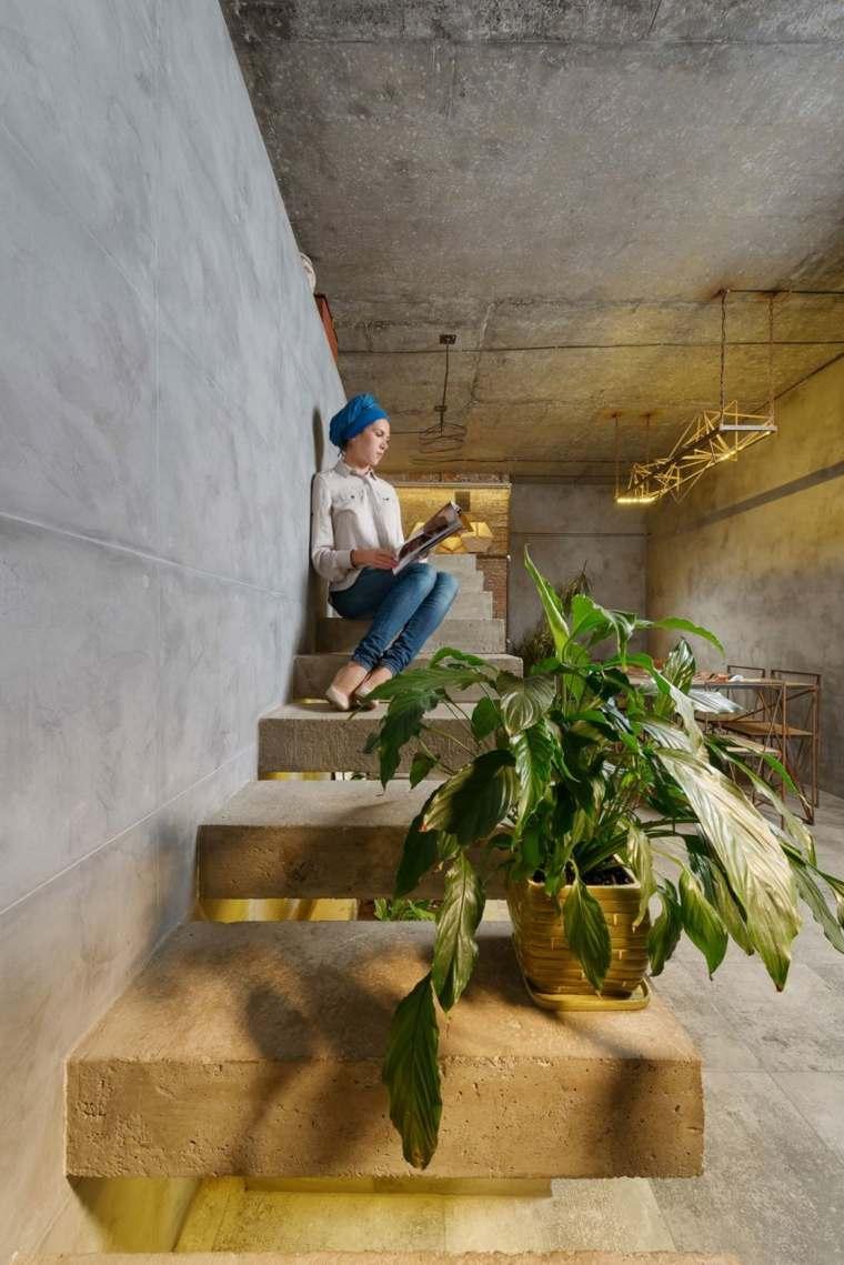 interiores escalera luces integradas led