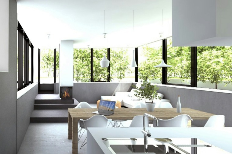 interiores especiales muebles abierto claro