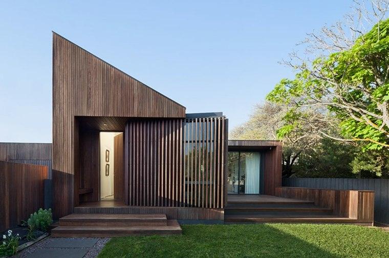 la casa modesta diseñada Coy Yiontis Architects artistico diseno ideas