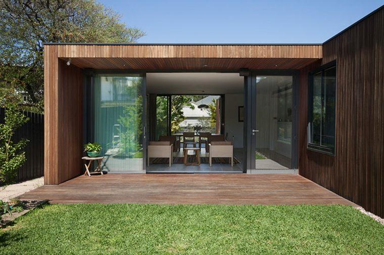 la casa modesta diseñada Coy Yiontis Architects opciones ideas