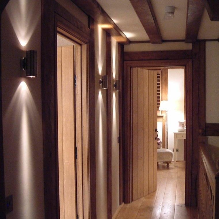 L mparas de pasillo modernas para decorar el interior - Decoracion de pasillos y recibidores ...
