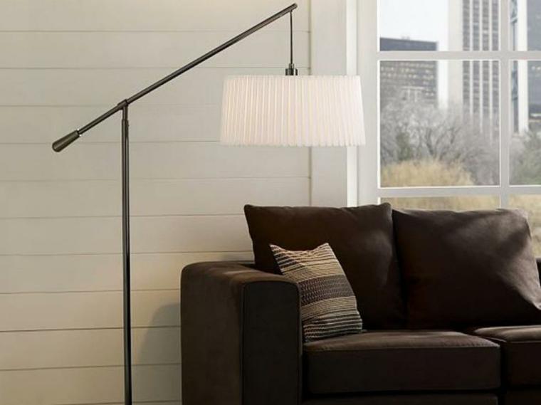 lampara salon clasico estilos muebles blanco