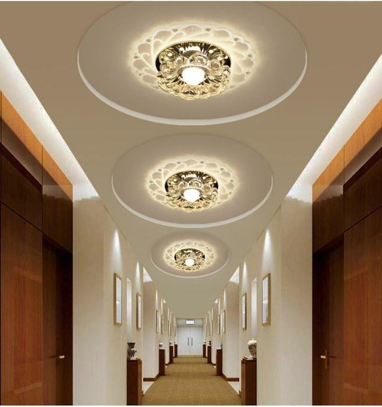 lámparas de pasillo de techo