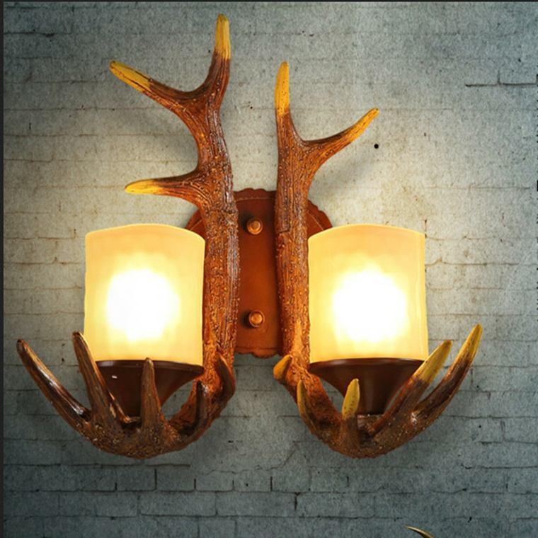 lámparas de pasillos originales