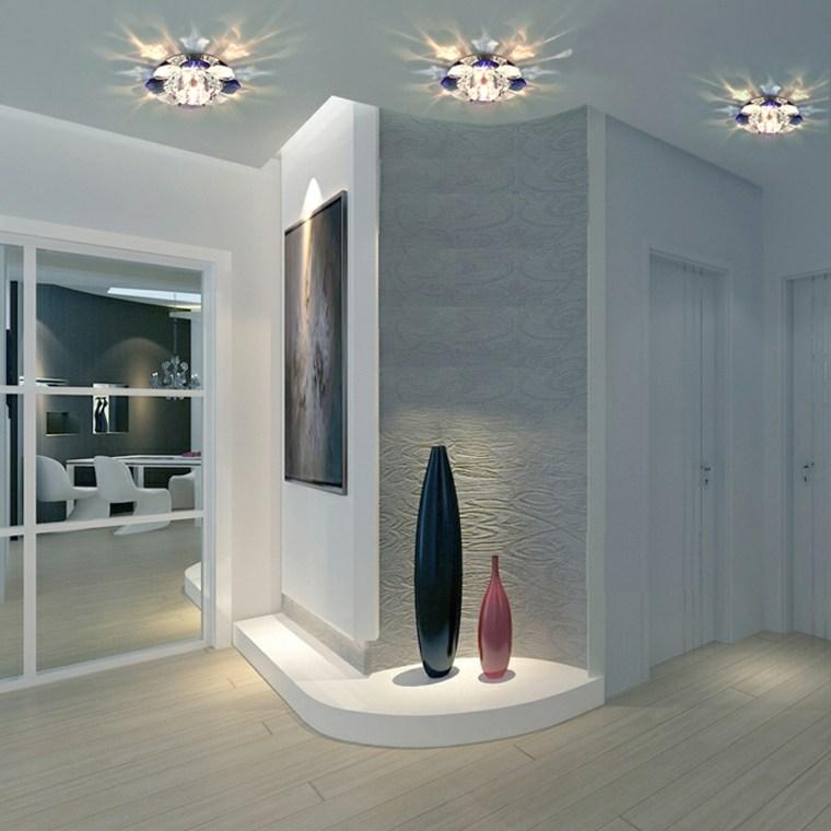 L mparas de pasillo modernas para decorar el interior for Diseno pasillos interiores