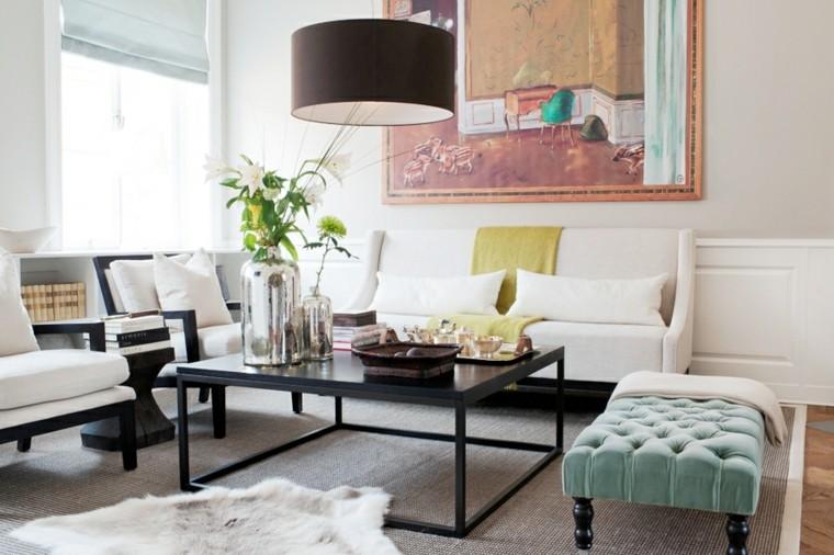 lamparas de techo para salon grises especiales verdes