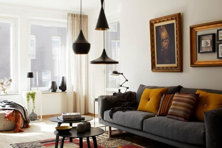 lamparas de techo para salon soluciones especiales cuadros