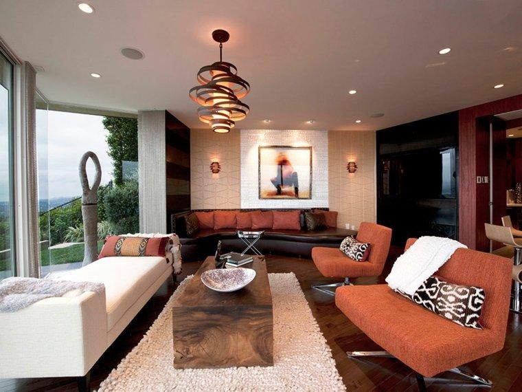 lamparas de techo para salon conceptos