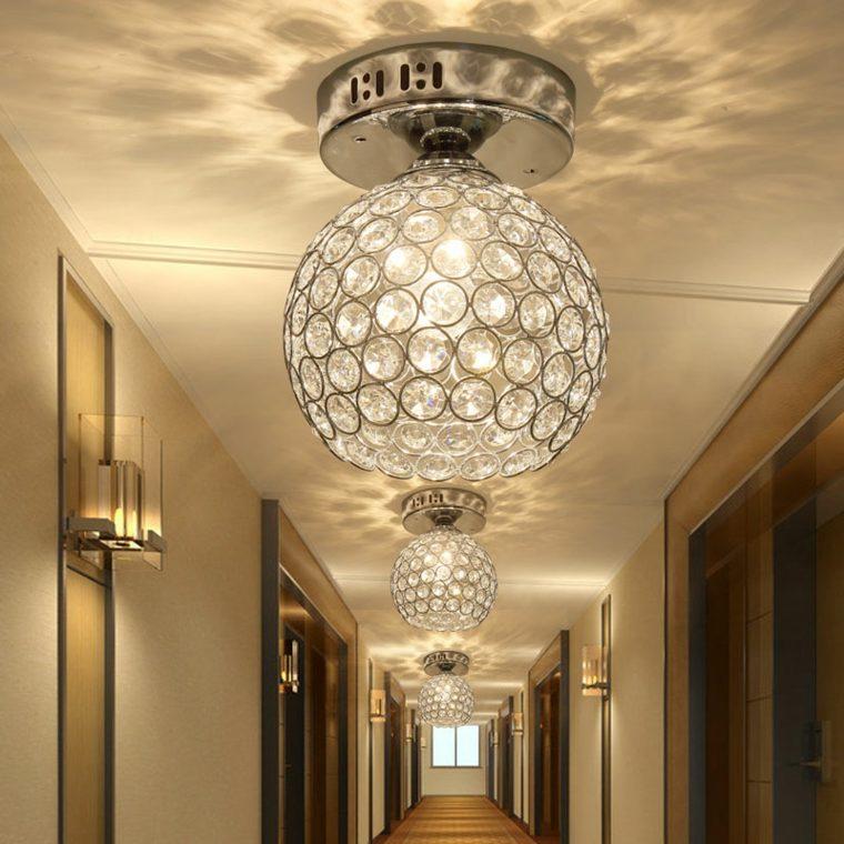 L mparas para pasillos para decorar y modernizar - Lamparas de entrada ...