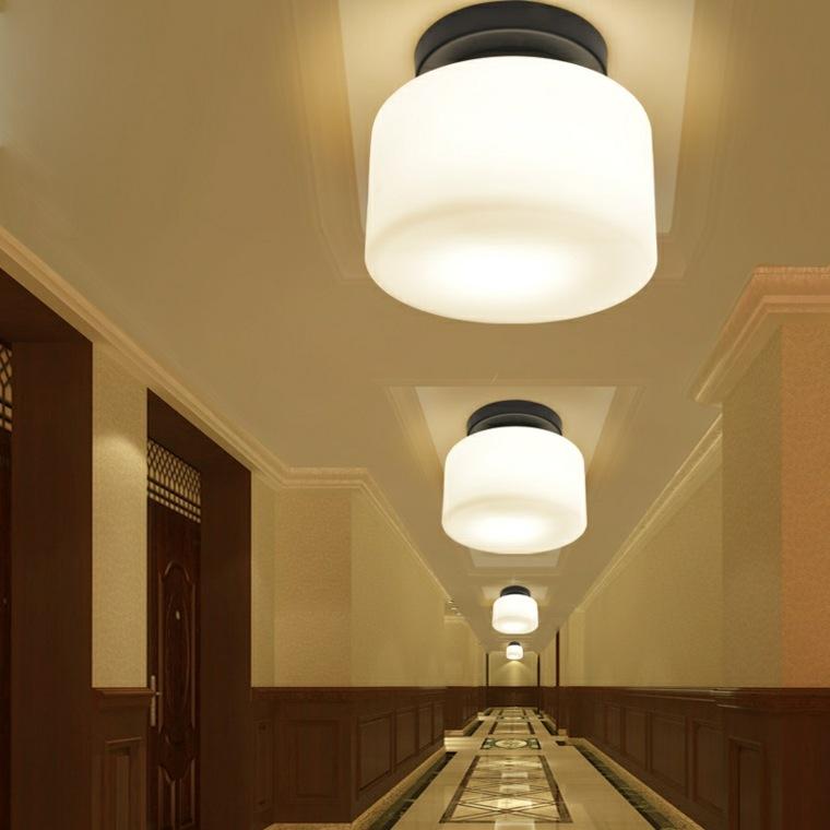 L mparas para pasillos para decorar y modernizar - Focos pasillo ...
