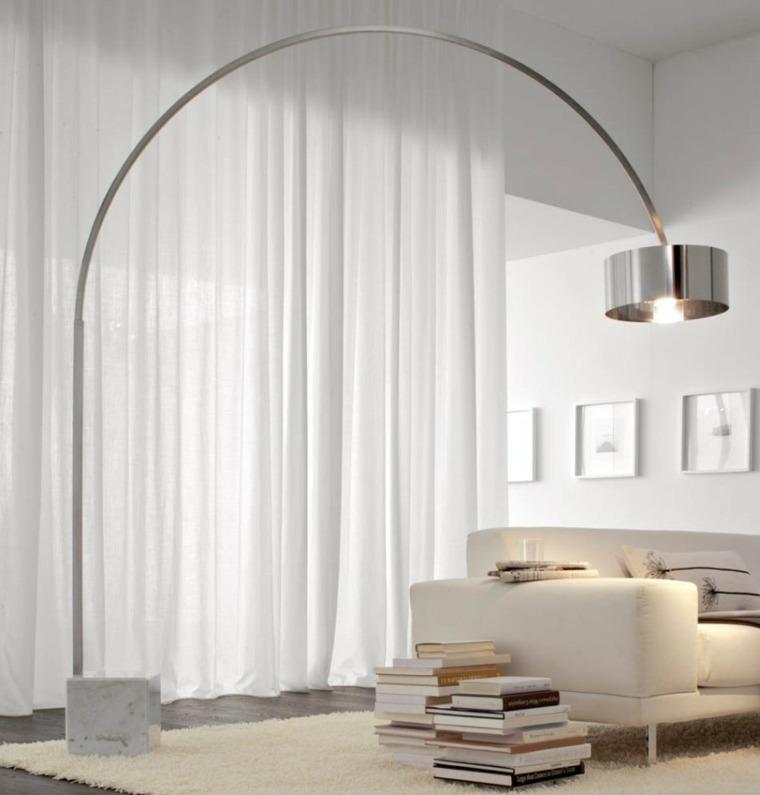 lamparas para salon mueble modernos sofa