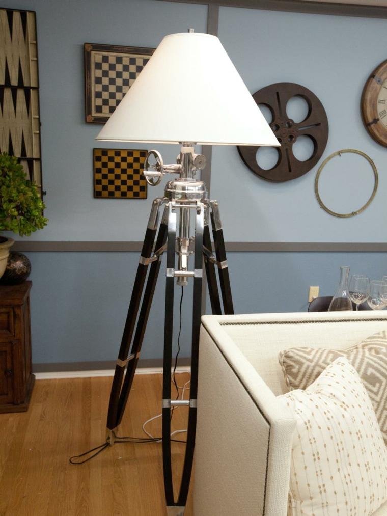 lamparas para salon tripode camara ruedas