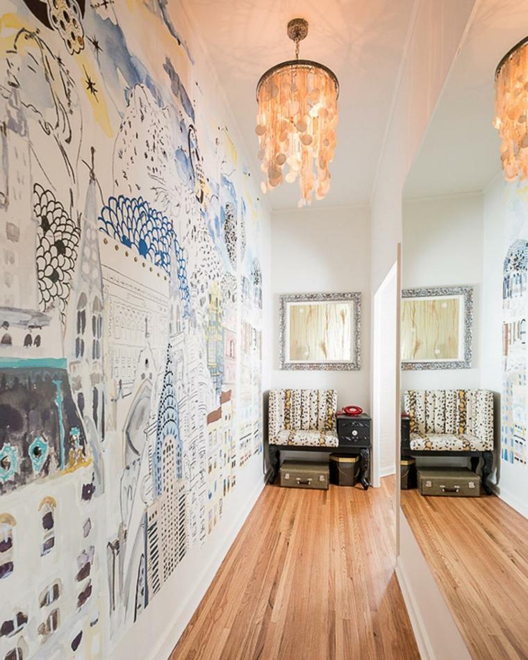 lof eclectico mural paredes conceptos
