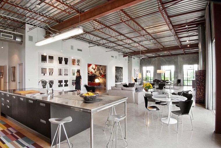 loft contemporaneo industrial Cohen Carnaggio Reynolds Architects ideas