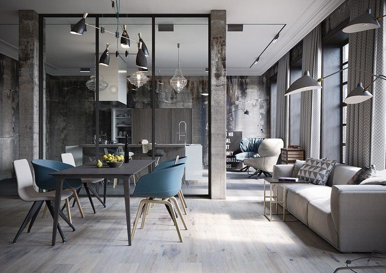 loft diseno industrial Denis Krasikov ideas
