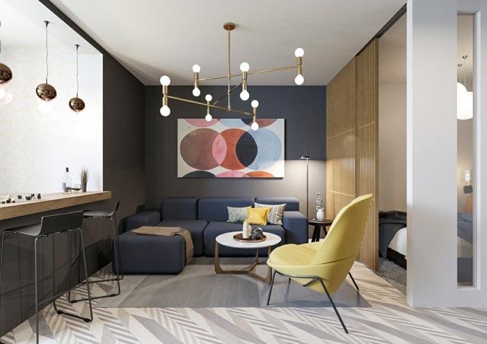 madera base circular ideas cortinas