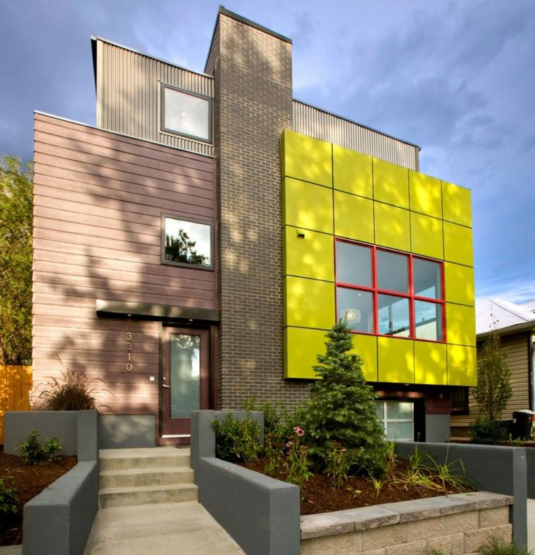 Fachadas casas m s dise os que no puedes perderte for Que color de fachada elegir