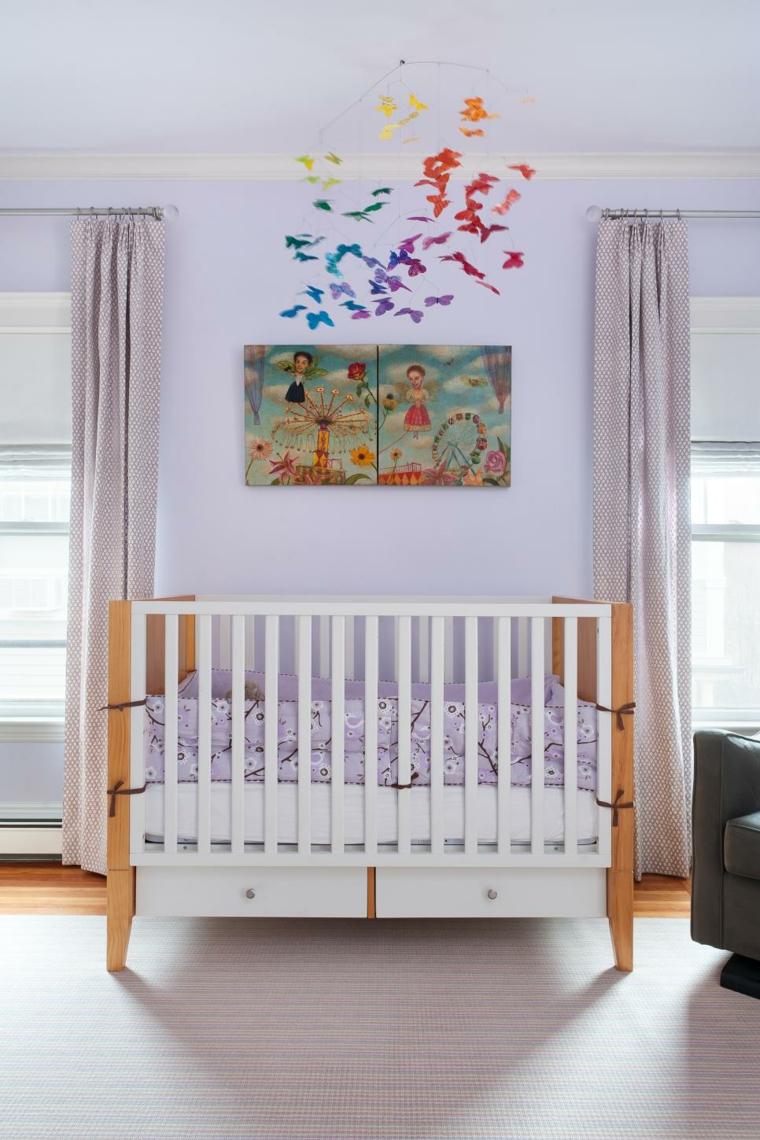 mariposas detalle colorido habitacio sillon
