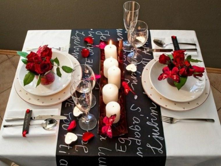 mesas románticas para dos